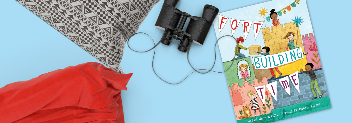 Fort Building Time WinterKids Book of the Month 2020