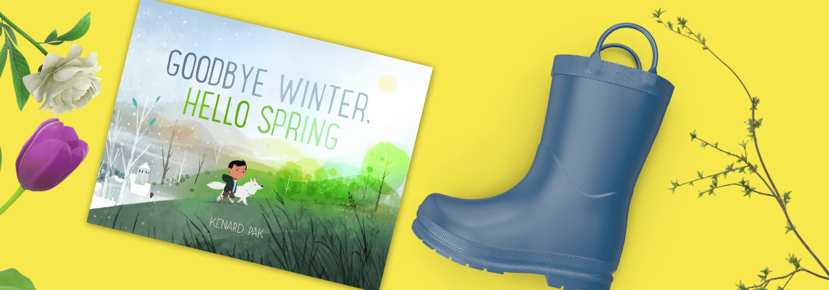 Goodbye Winter Hello Spring WinterKids Book of the Month March 2020