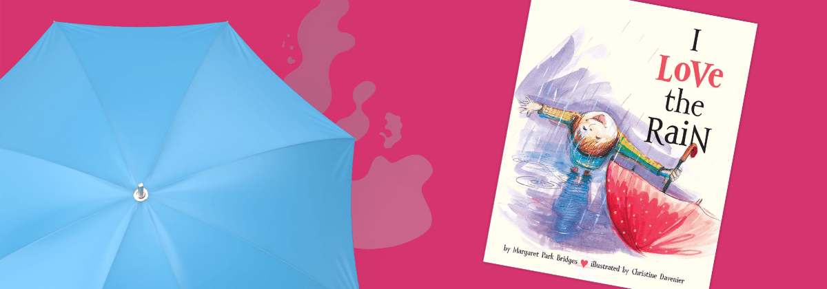 I Love the Rain WinterKids Book of the Month April 2020