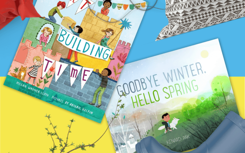 Book of the Month: Keep Them Busy & Curious as We Transition from Winter to Spring