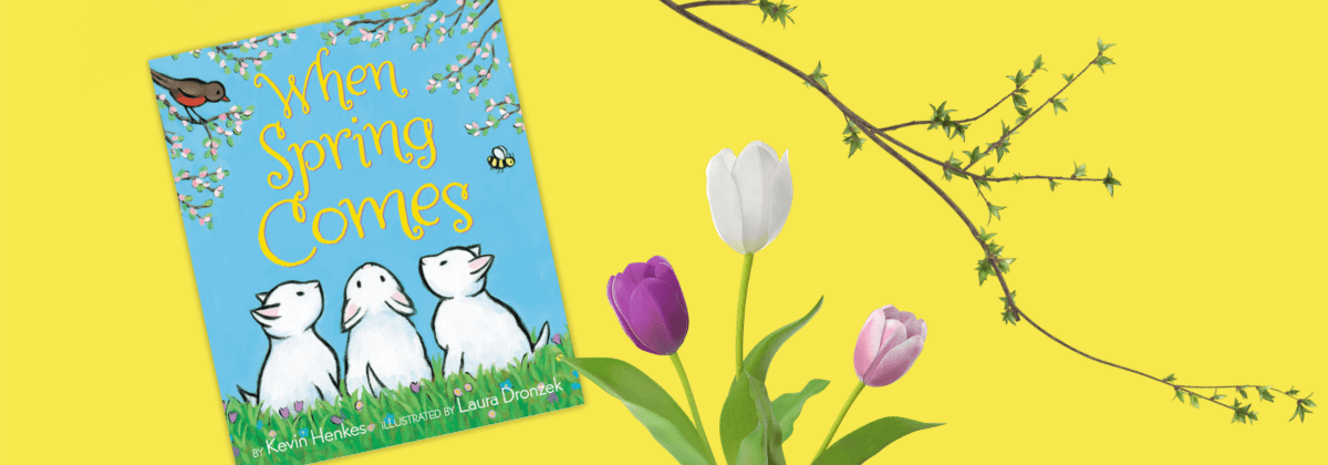 When Spring Comes WinterKids Book of the Month April 2020