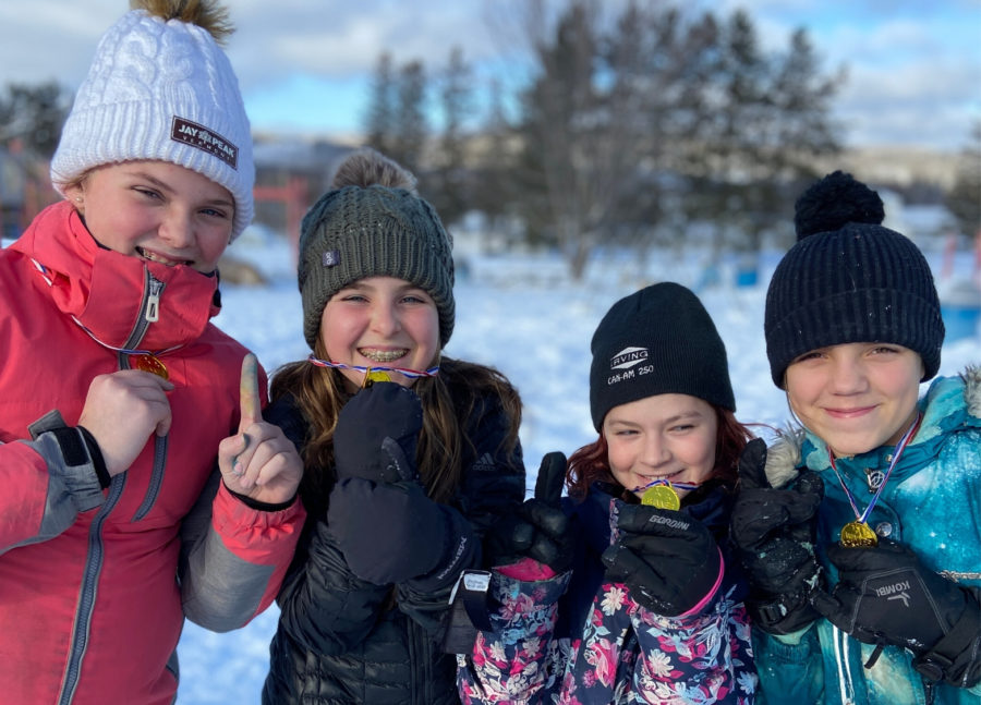 Dr Levesque Elementary Students Winter Games 2020