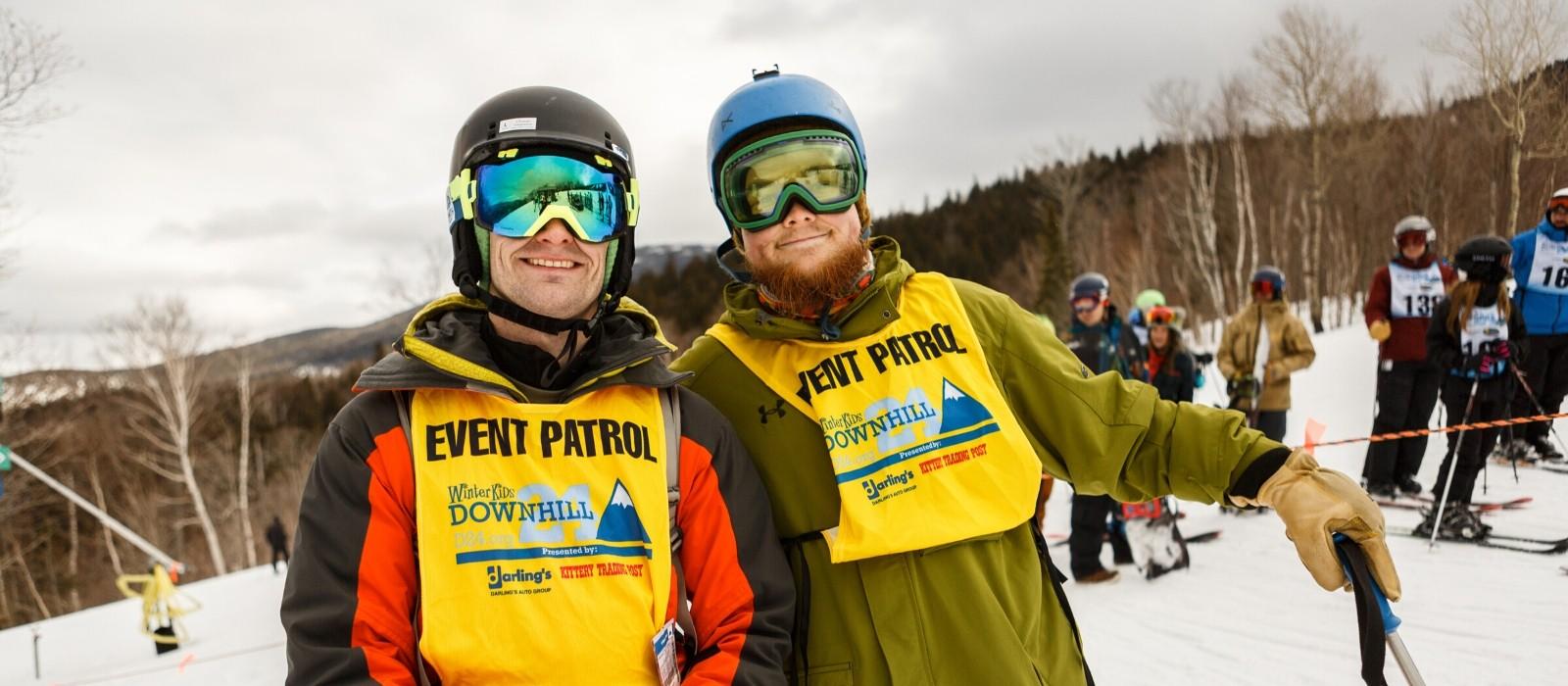 WinterKids volunteers at D24 2020