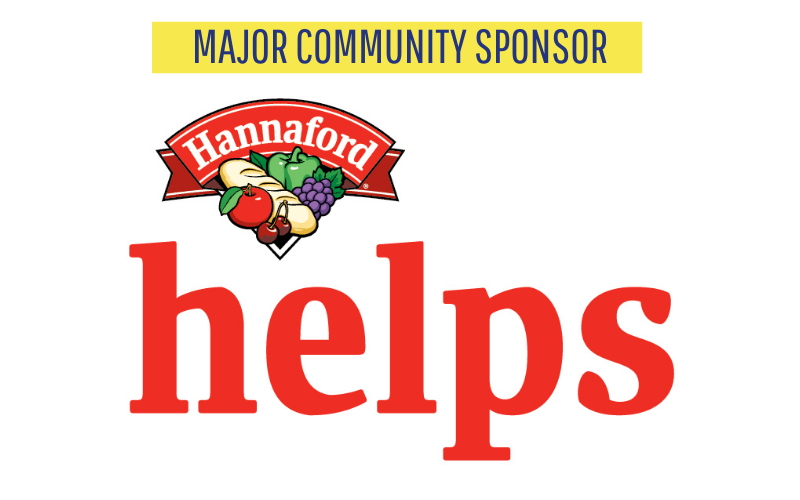 Major Community Sponsor Hannaford FY2020