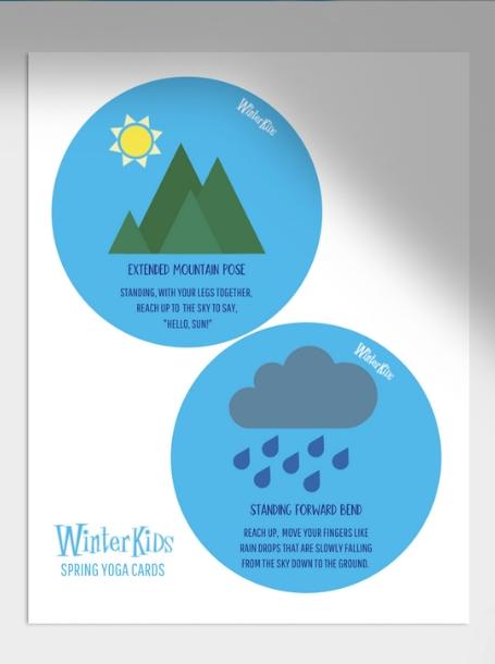 Spring Yoga Cards WinterKids Blog