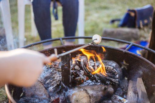 Backyard Summer Camp with Back40 Campfire