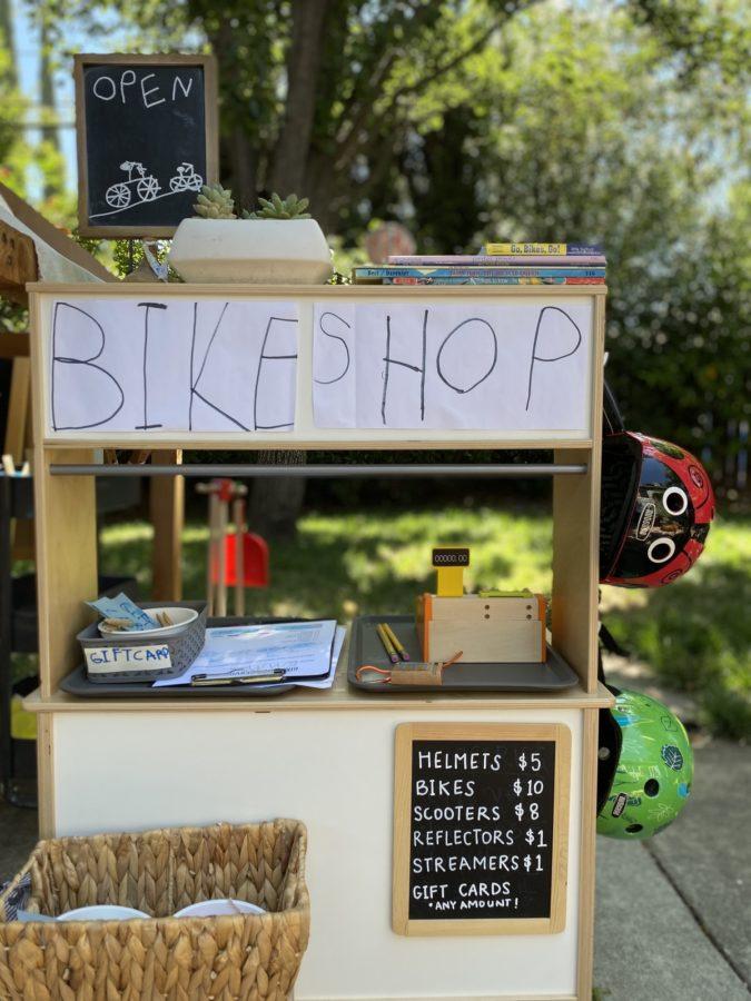 Dramatic Play Bike Shop WinterKids 05
