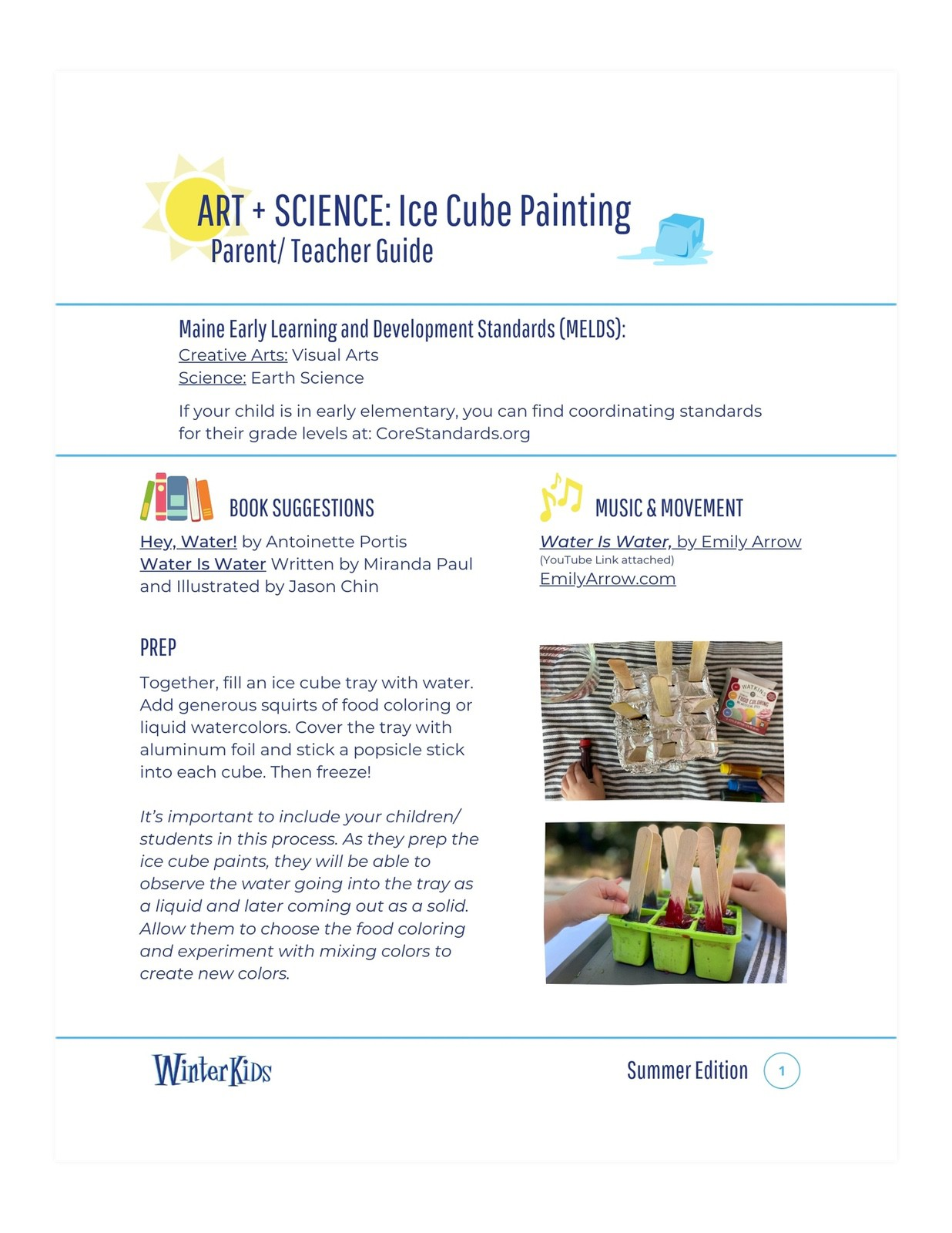 Guide Ice Cube Painting WinterKids P 1 shadow