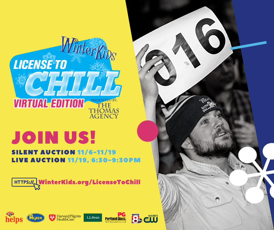 WinterKids License to Chill fundraiser is online through Nov. 19