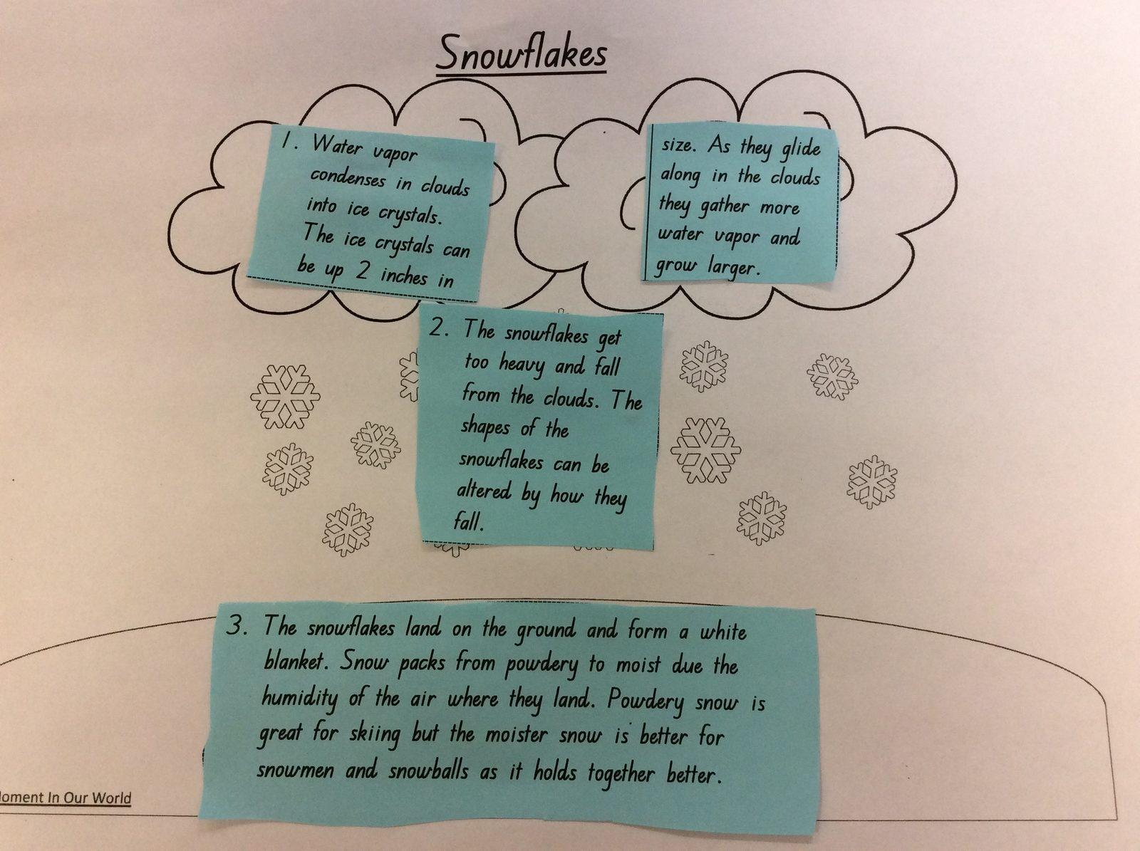 Studying Snow Crystals WinterKids Teachers Sharing Series4