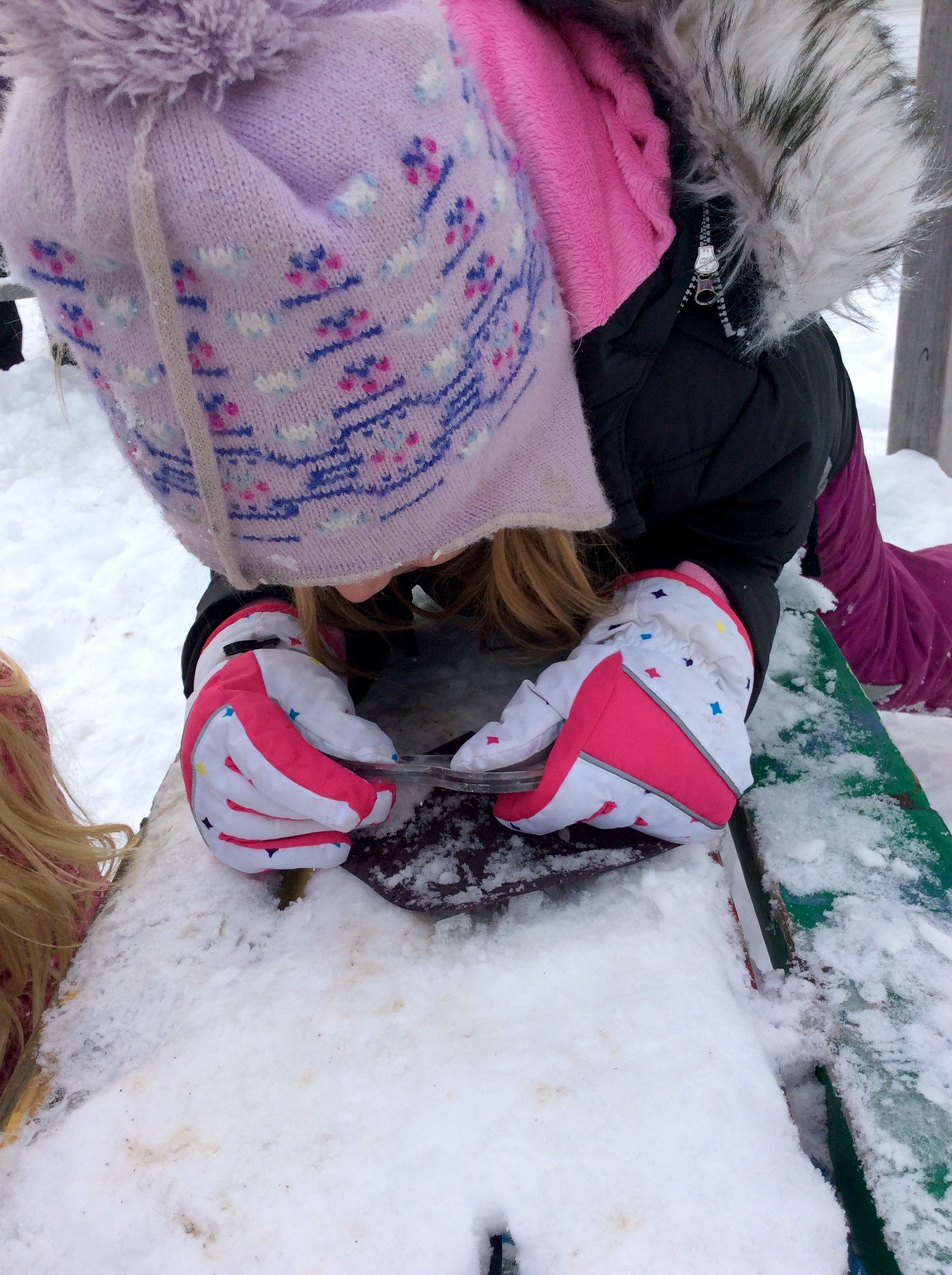 Snowflake Study: An Outdoor Science Activity