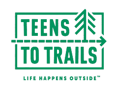 teens to trails logo