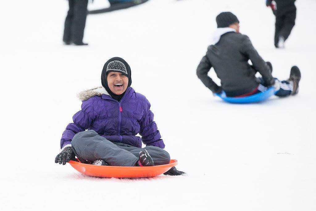 12 Ideas for Outdoor Winter Fun WinterKids Sledding 27