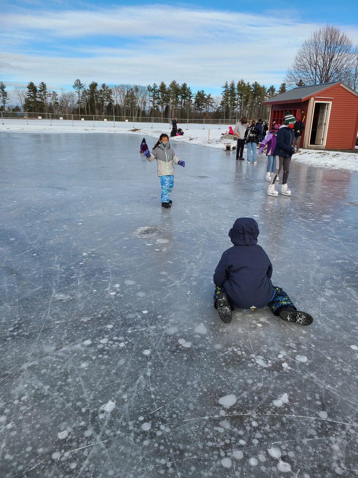 4th Grade Village School Week 2 Winter Games 2021 Moment of the Week