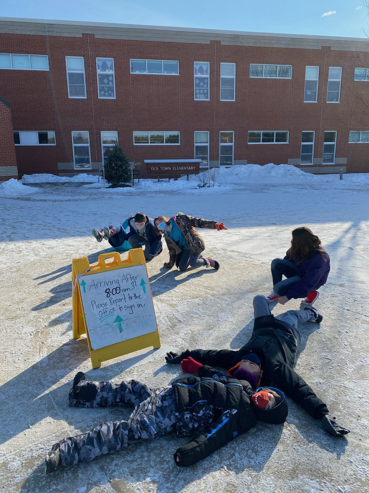 5th Grade Old Town 2 Week 2 Winter Games 2021 Moment of the Week