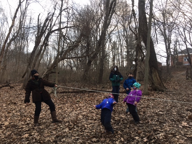 K 2nd Grade Forest Kids 3 Week 2 Winter Games 2021 Moment of the Week