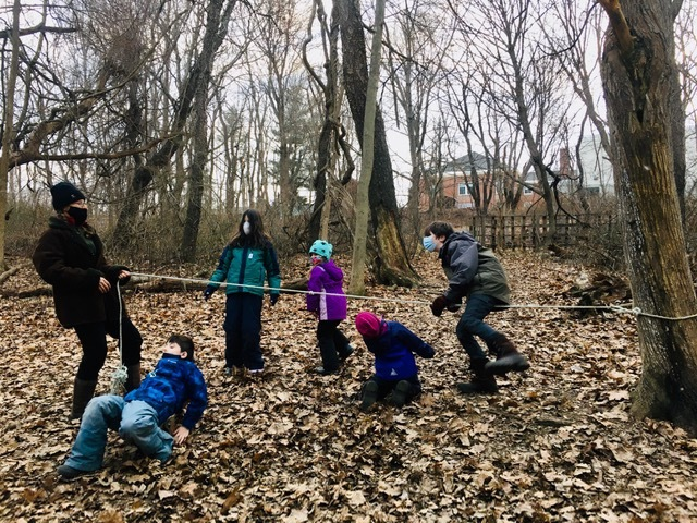 K 2nd Grade Forest Kids Week 2 Winter Games 2021 Moment of the Week