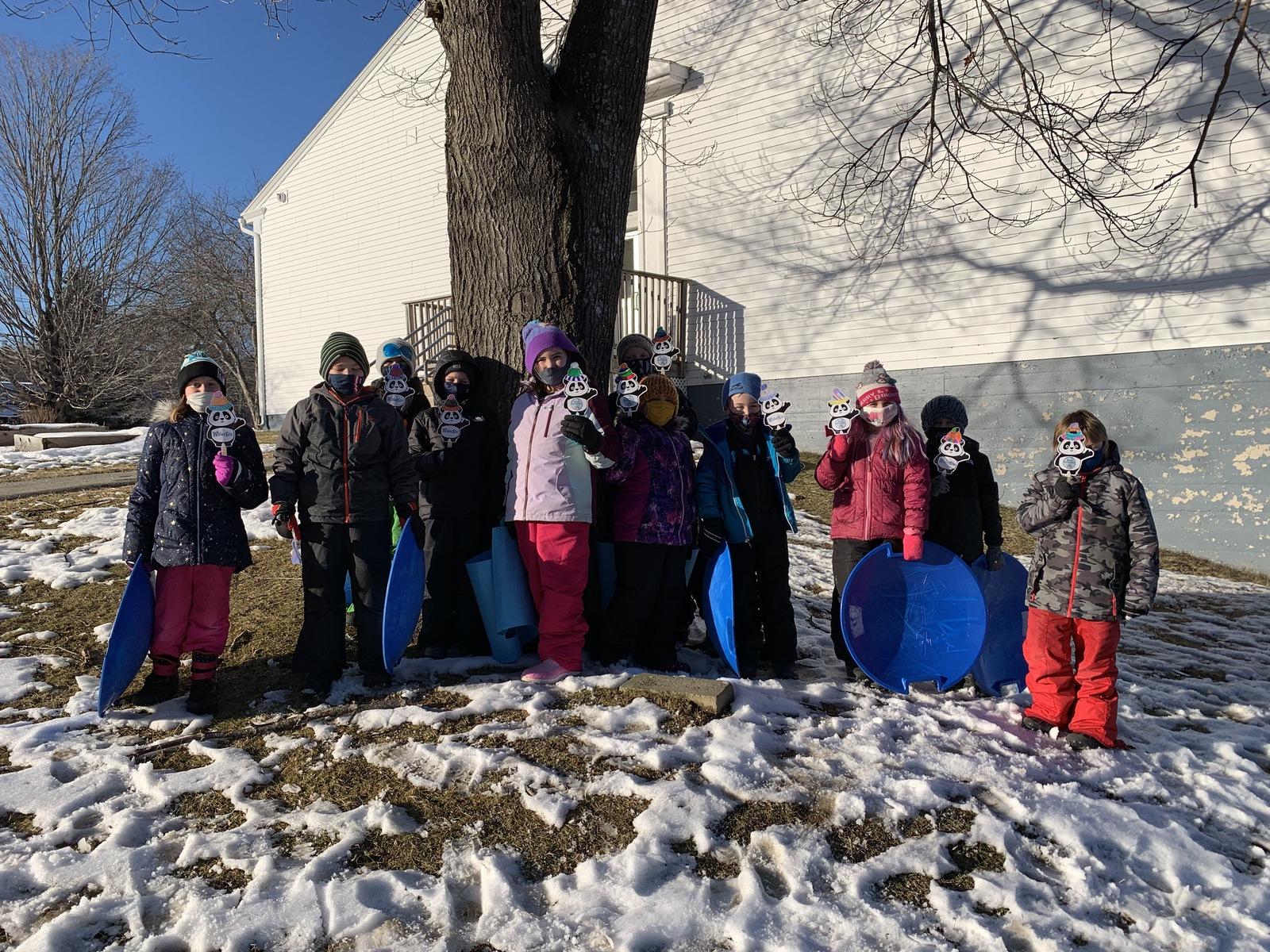 Week 1 2nd Grade Prescott Memorial 2 Winter Games 2021 Moment of the Week