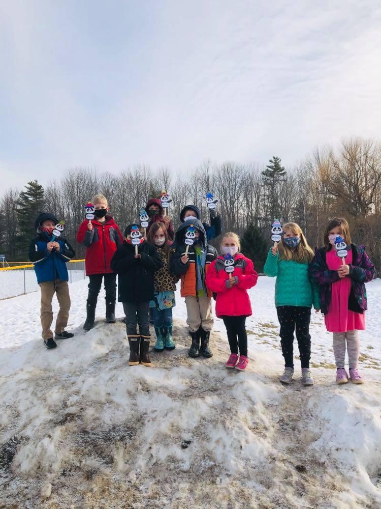 Week 1 2nd Grade Prescott Memorial Winter Games 2021 Moment of the Week