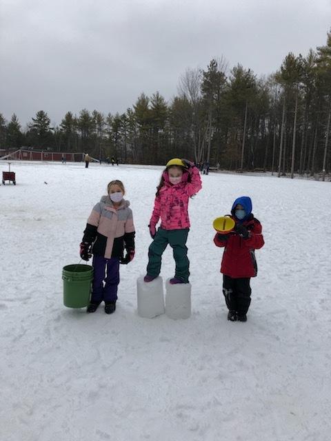 Week 1 2nd Grade Waterboro Winter Games 2021 Moment of the Week
