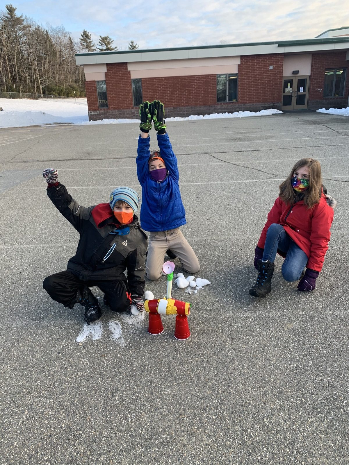 Week 1 3 4th Grade Miles Lane Entry 1 Winter Games 2021 Moment of the Week