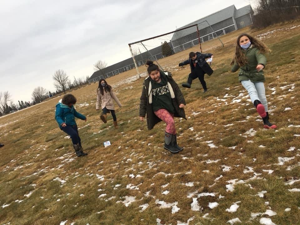 Week 1 5th Grade Jonesport Elementary Winter Games 2021 Moment of the Week