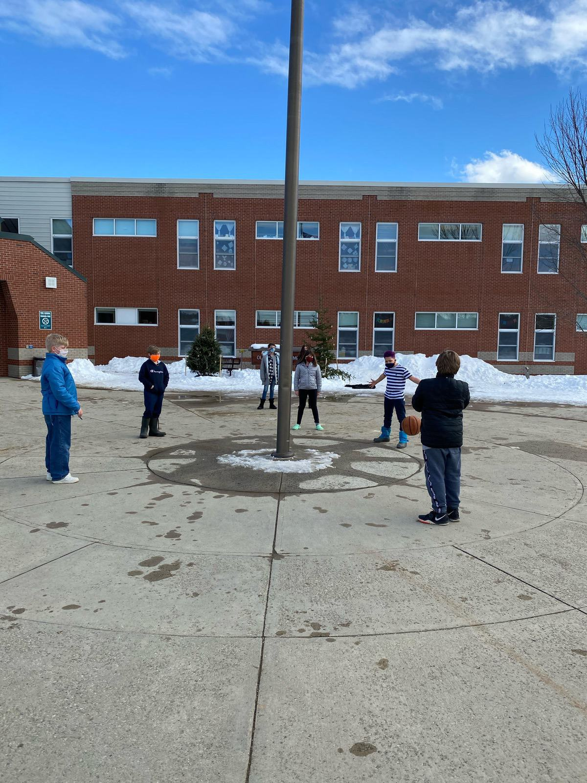 Week 1 5th Grade Old Town Elementary Winter Games 2021 Moment of the Week