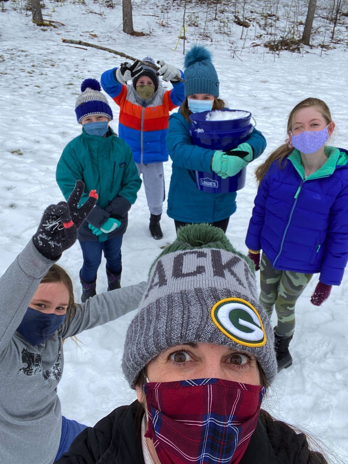 Week 1 5th Grade Waterboro Winter Games 2021 Moment of the Week