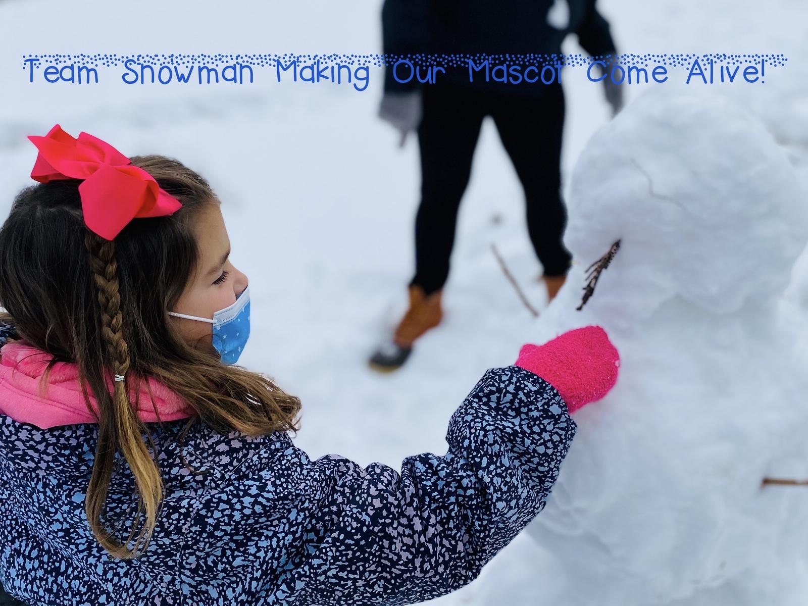 Week 1 Kindergarten Leroy H Smith Winter Games 2021 Moment of the Week