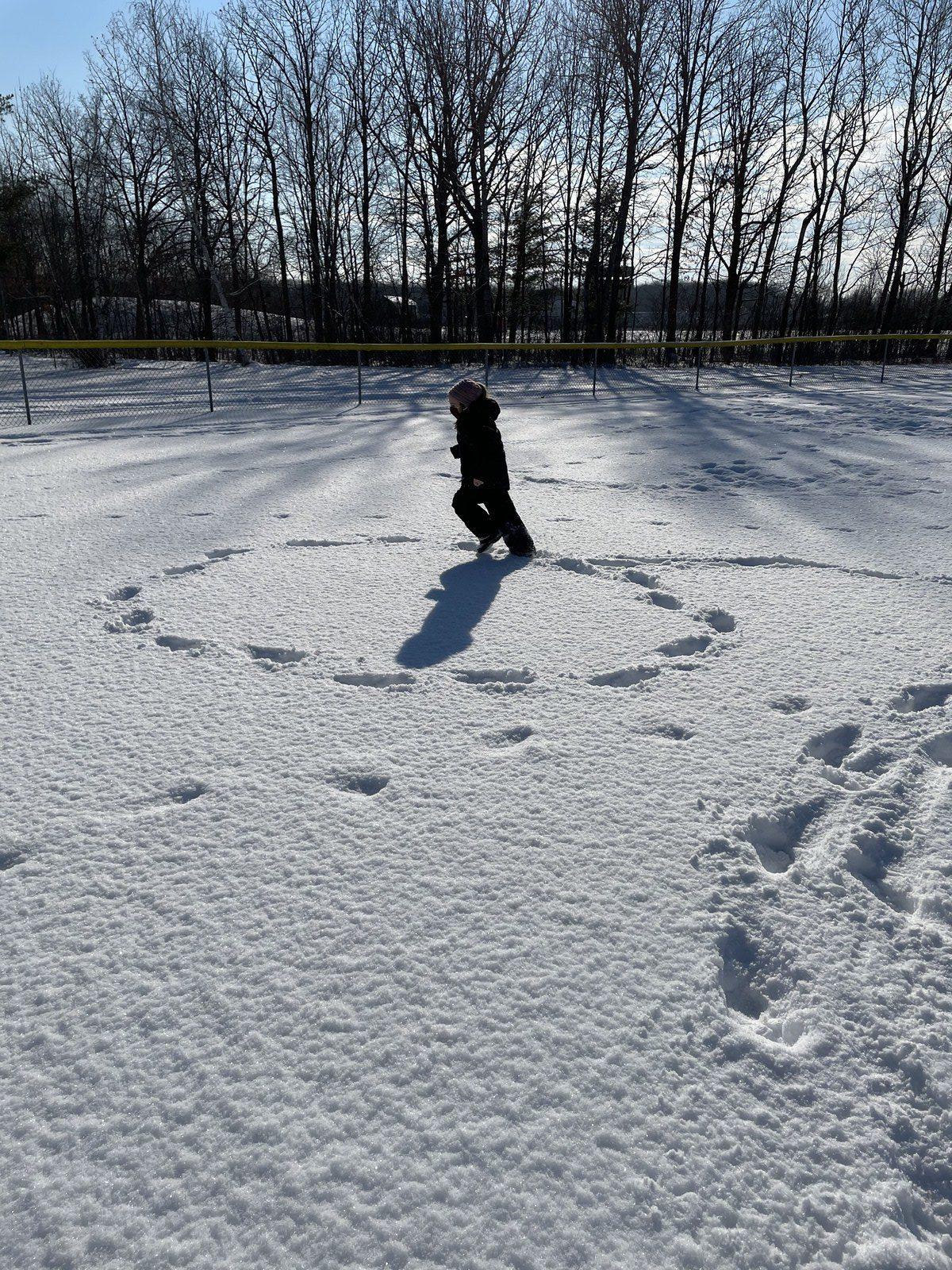 Week 1 Kindergarten Winslow Winter Games 2021 Moment of the Week