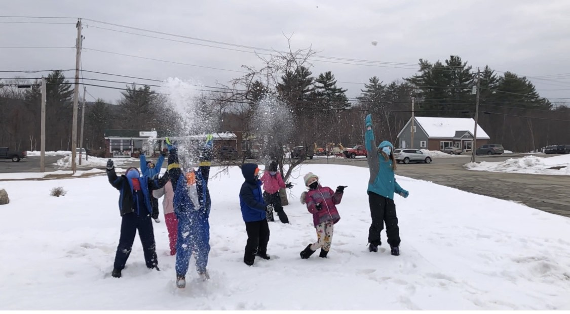 Week 1 jay elementary 3rd grade Winter Games 2021 Moment of the Week