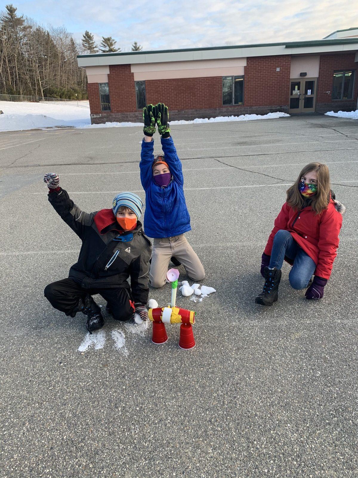 Winter Games 2021 Week 1 3 4th Grade Miles Lane