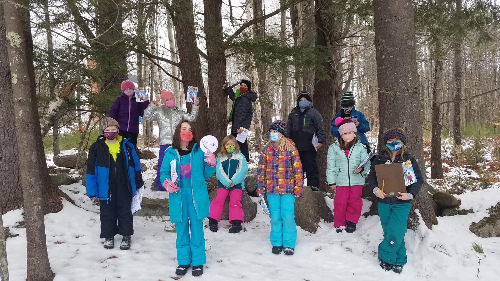 Week 1 Winners in the 2021 WinterKids Winter Games