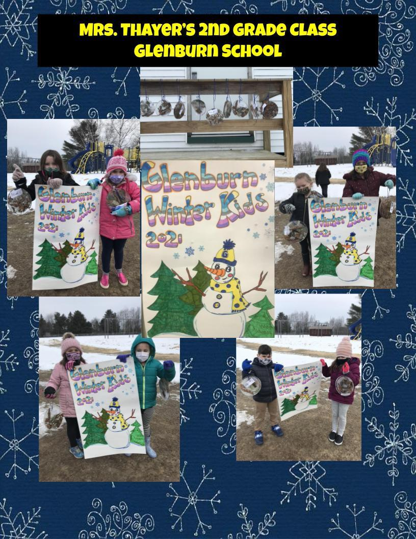 Winter Games 2021 Winner Week 2 2nd Grade Glenburn