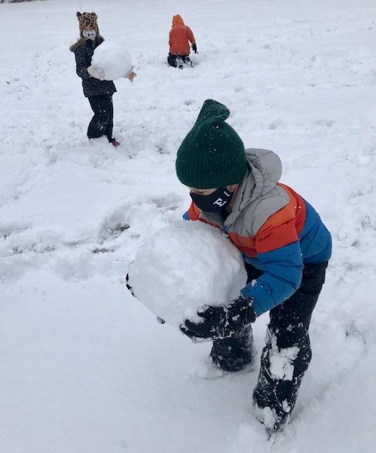 1st Grade West Bath School Week 3 Winter Games 2021 Moment of the Week