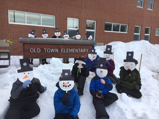 2nd Grade Old Town Elementary Week 4 Winter Games 2021 Moment of the Week