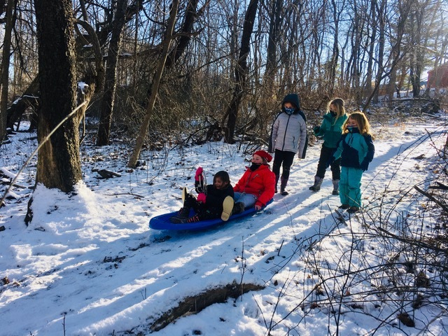 3rd Grade Forest Kids Week 4 Winter Games 2021 Moment of the Week