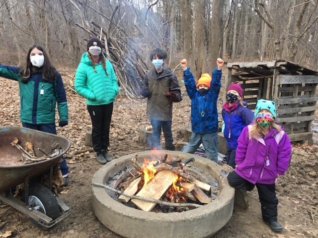 5th Grade Forest Kids Week 3 Winter Games 2021 Moment of the Week