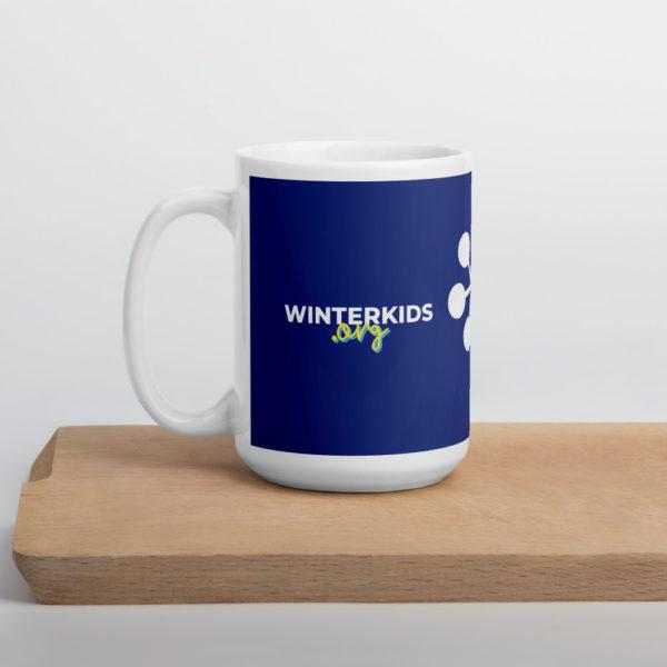 DARK BLUE WinterKids mug 15oz cutting board 6035304557356