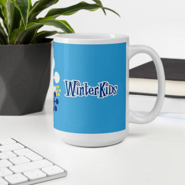 LIGHT BLUE WinterKids mug 15oz office environment 60352e9ef3140