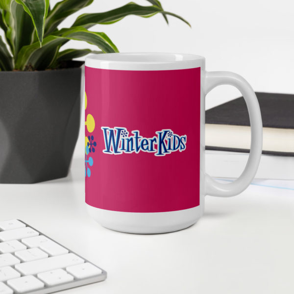 PINK WinterKids mug 15oz office environment 60353270cd2cd