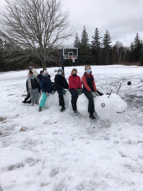 Swans Island School Week 4 Winter Games 2021 Moment of the Week WINNER