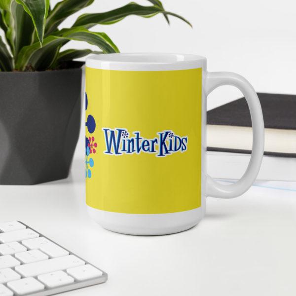 YELLOW WinterKids mug 15oz office environment 6035345fab727