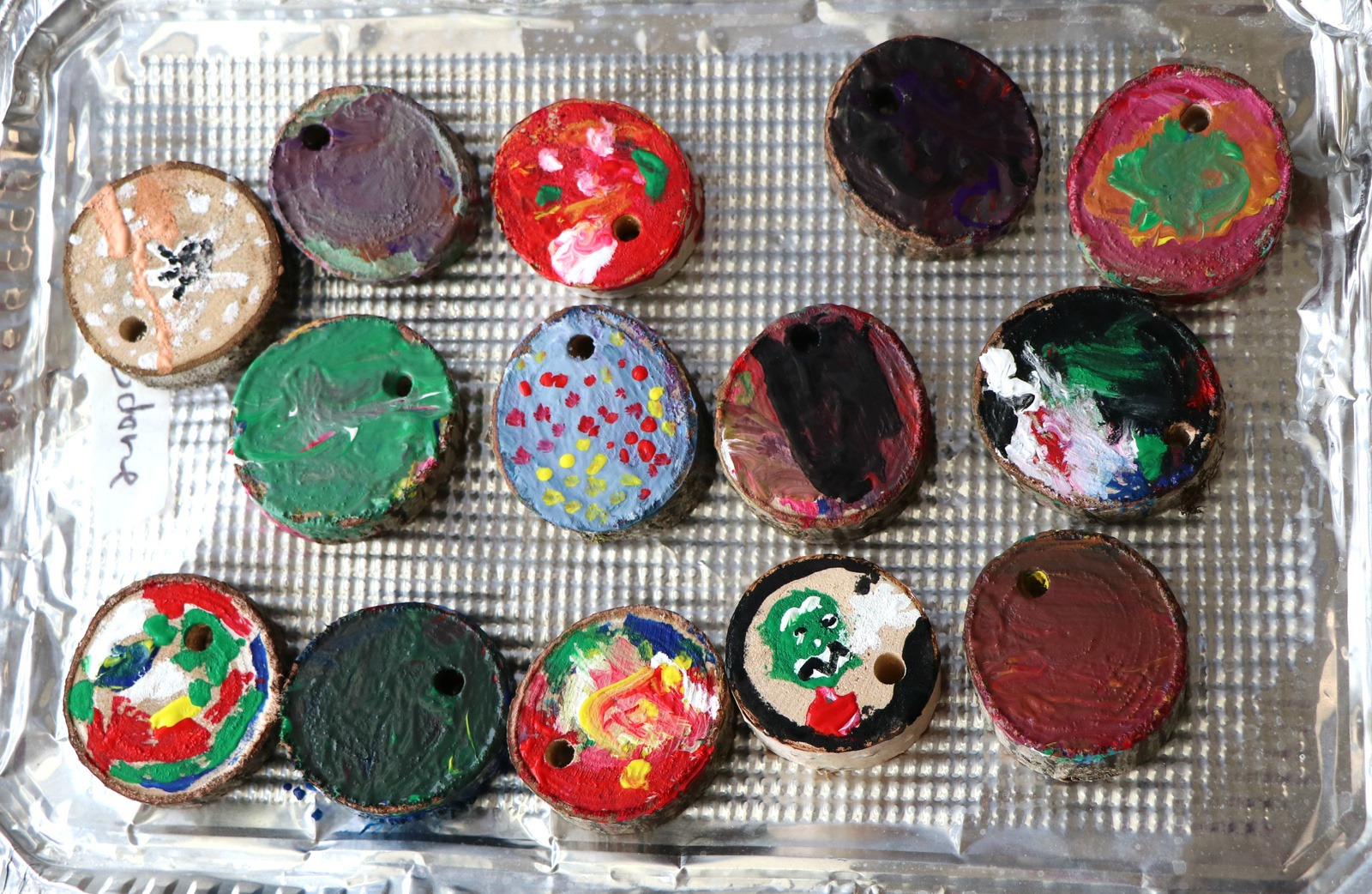 Tree Cookies: A Nature-Based Art Activity