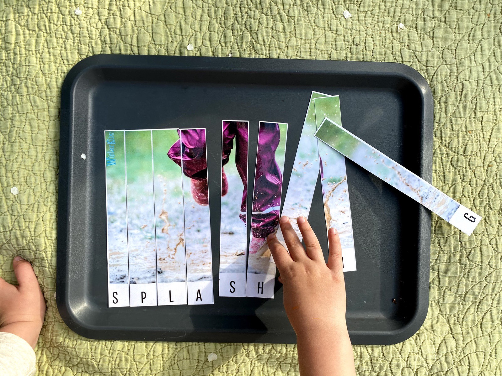 Spring Fun Puzzles for Preschoolers