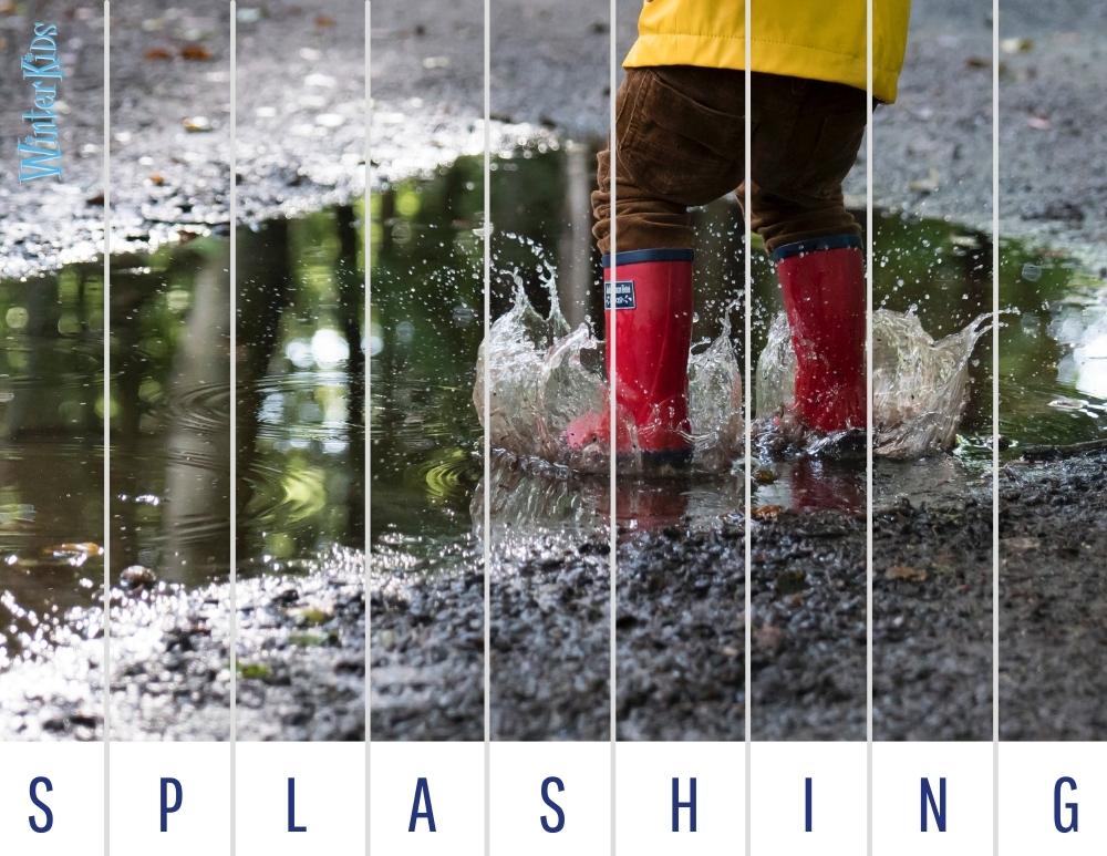 WinterKids Spring Fun Puzzle Images 1