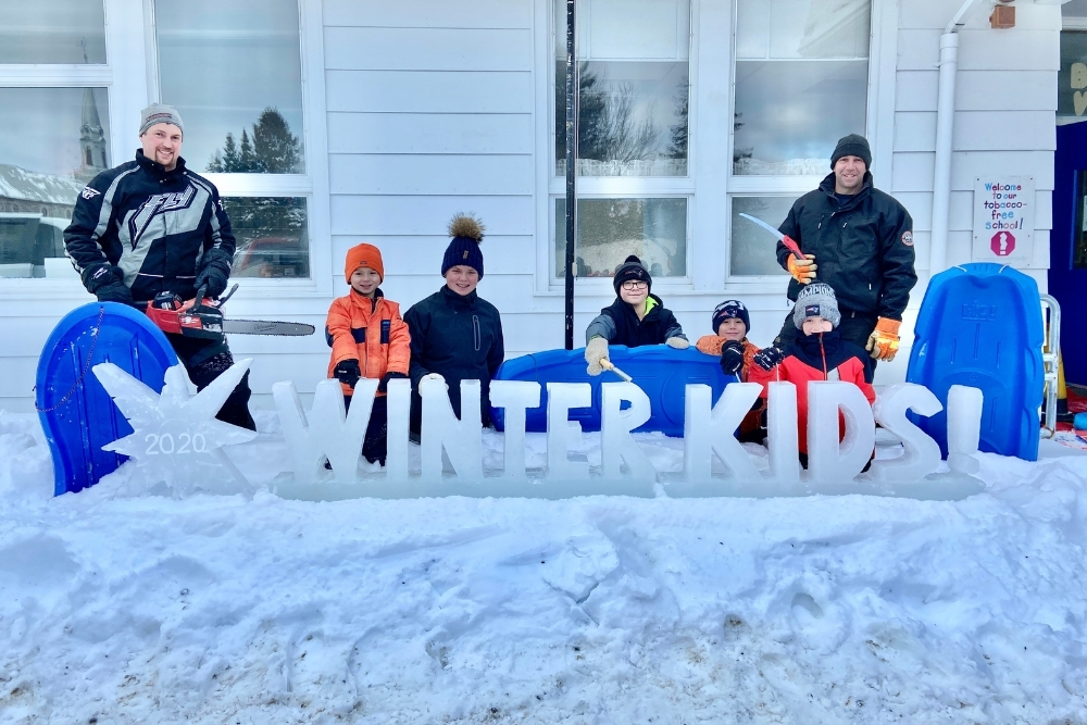 Winter Games 2020 Week 3 Dr Levesque Elementary School 4